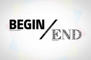 begin end